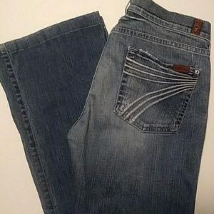 7FAM 7 For All Mankind DOJO Trouser Jeans